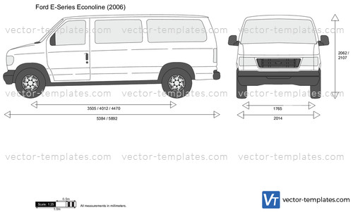 Templates Cars Ford Ford E Series Econoline