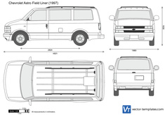 Chevrolet Astro Field Liner