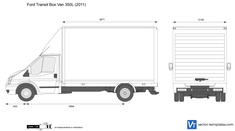 Ford Transit Box Van 350L