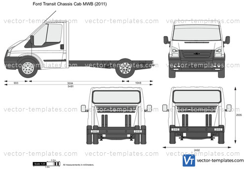 Templates Cars Ford Ford Transit Chassis Cab Mwb