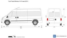 Ford Transit Minibus 14-15 seat