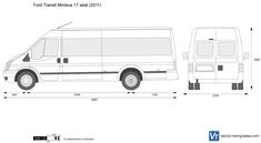 Ford Transit Minibus 17 seat