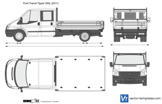 Ford Transit Tipper 350L