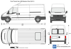 Ford Transit Van LWB Medium Roof