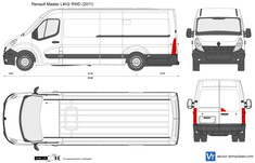 Renault Master L4H2 RWD