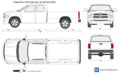 Dodge Ram 1500 Quad Cab 160 WB 4x2