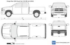 Dodge Ram 3500 Quad Cab 140 WB 4x2