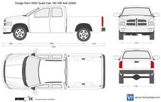 Dodge Ram 3500 Quad Cab 140 WB 4x4