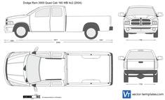 Dodge Ram 3500 Quad Cab 160 WB 4x2