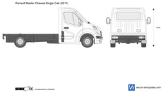 Renault Master Chassis Single Cab
