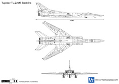 Tupolev Tu-22M3 Backfire