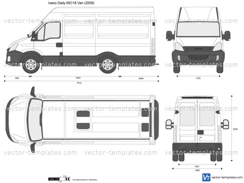 Templates Cars Iveco Iveco Daily 65c18 Van