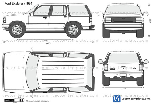 Templates - Cars - Ford - Ford Explorer