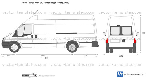 Templates Cars Ford Ford Transit Van El Jumbo High Roof