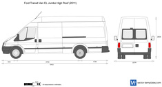 Ford Transit Van EL Jumbo High Roof