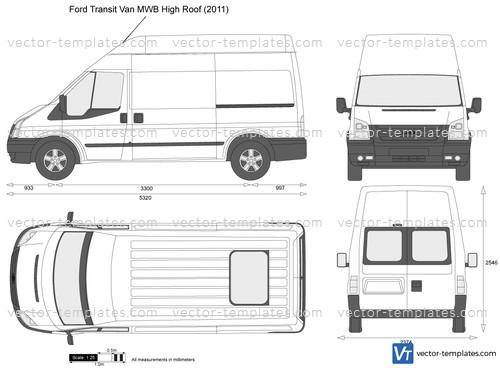 Ford Transit Van MWB High Roof