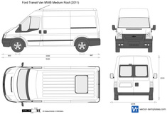 Ford Transit Van MWB Medium Roof