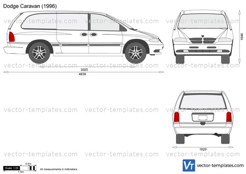 Templates - Cars - Dodge - Dodge Caravan