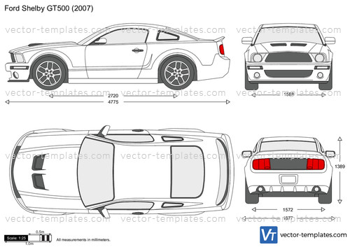Templates Cars Ford Ford Mustang Shelby Gt500