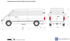Mercedes-Benz Sprinter MWB Normal Roof