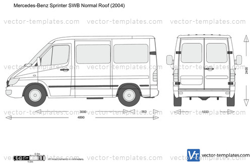 Mercedes-Benz Sprinter SWB Normal Roof