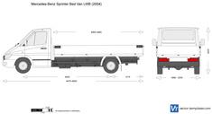 Mercedes-Benz Sprinter Bed Van LWB