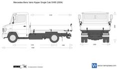 Mercedes-Benz Vario Kipper Single Cab SWB