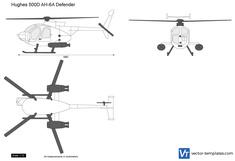 Hughes 500D AH-6A Defender