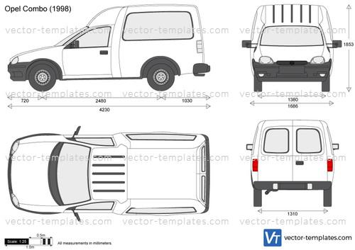 templates - cars - opel