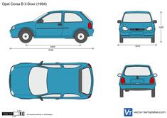 Opel Corsa B 3-Door