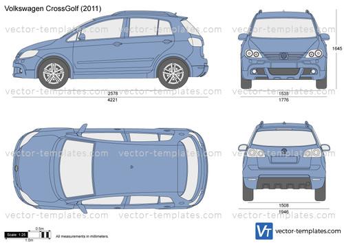 Templates Cars Volkswagen Volkswagen Crossgolf