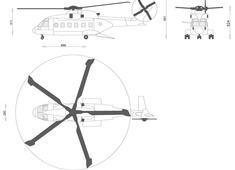 AgustaWestland AW101 Merlin Helicopter