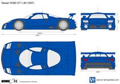 Nissan R390 GT1 LM