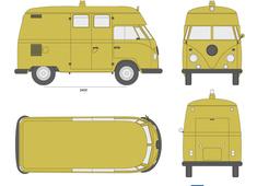 Volkswagen Type 2 Kombi High Roof