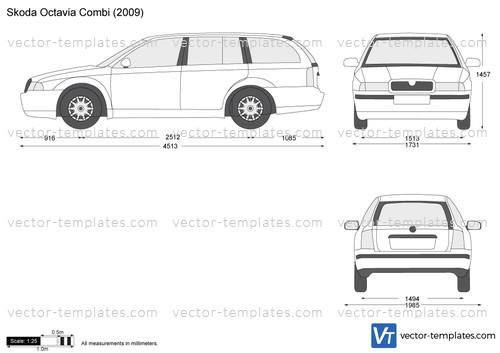 templates - cars - skoda