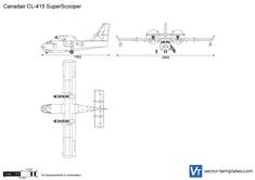 Canadair CL-415 SuperScooper
