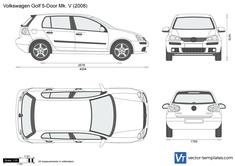 Volkswagen Golf 5-Door Mk. V
