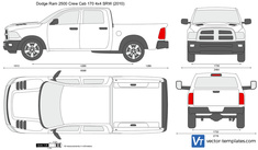 Dodge Ram 2500 Crew Cab 170 4x4 SRW