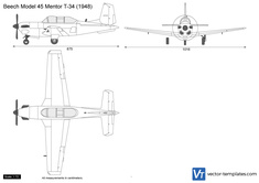 Beech Model 45 Mentor T-34