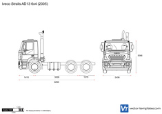 Iveco Stralis AD13 6x4