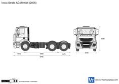 Iveco Stralis AD450 6x4