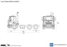 Iveco Stralis AD8 6x4