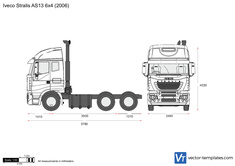 Iveco Stralis AS13 6x4