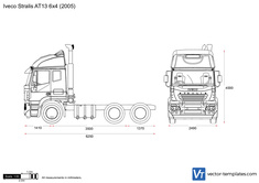Iveco Stralis AT13 6x4