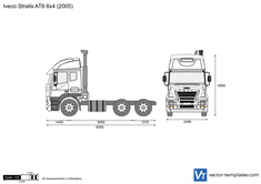Iveco Stralis AT8 6x4