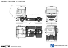 Mercedes-Benz Actros 1836 4x2 Low-Liner