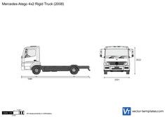 Mercedes-Benz Atego 4x2 Rigid Truck