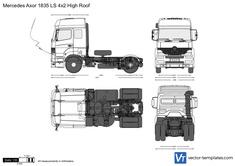 Mercedes-Benz Axor 1835 LS 4x2 High Roof