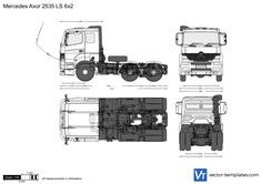 Mercedes-Benz Axor 2535 LS 6x2