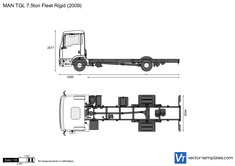 MAN TGL 7.5ton 4x2 Fleet Rigid